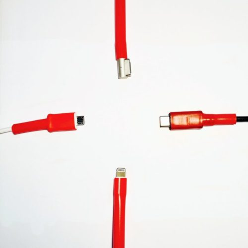 CordCondom Charger Protector on Android, Macbook and Apple lightning cables